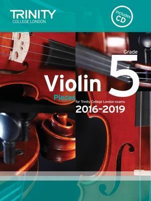Violin Exam Pieces Grade 5 2016-2019 (Score, Part & CD)