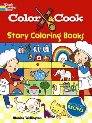 Color & Cook Story Coloring Book