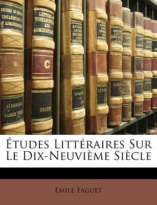 Etudes Litteraires S...