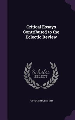 Critical Essays Cont...