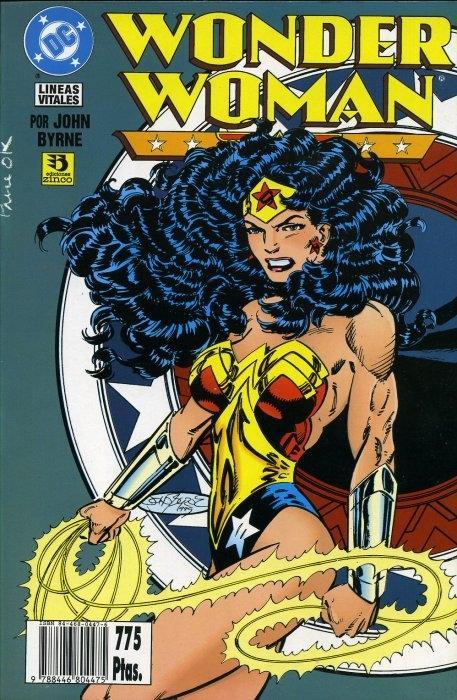 Wonder woman: líneas vitales