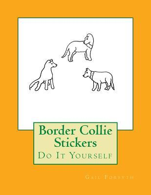 Border Collie Sticke...