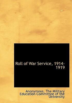Roll of War Service, 1914-1919
