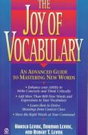 The Joy of Vocabulary