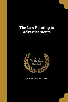 LAW RELATING TO ADVERTISEMENTS
