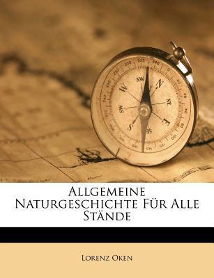 Allgemeine Naturgeschichte Fur Alle Stande