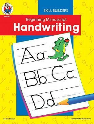 Beginning Manuscript Handwriting