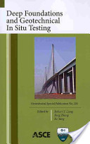 Deep foundations and geotechnical in situ testing
