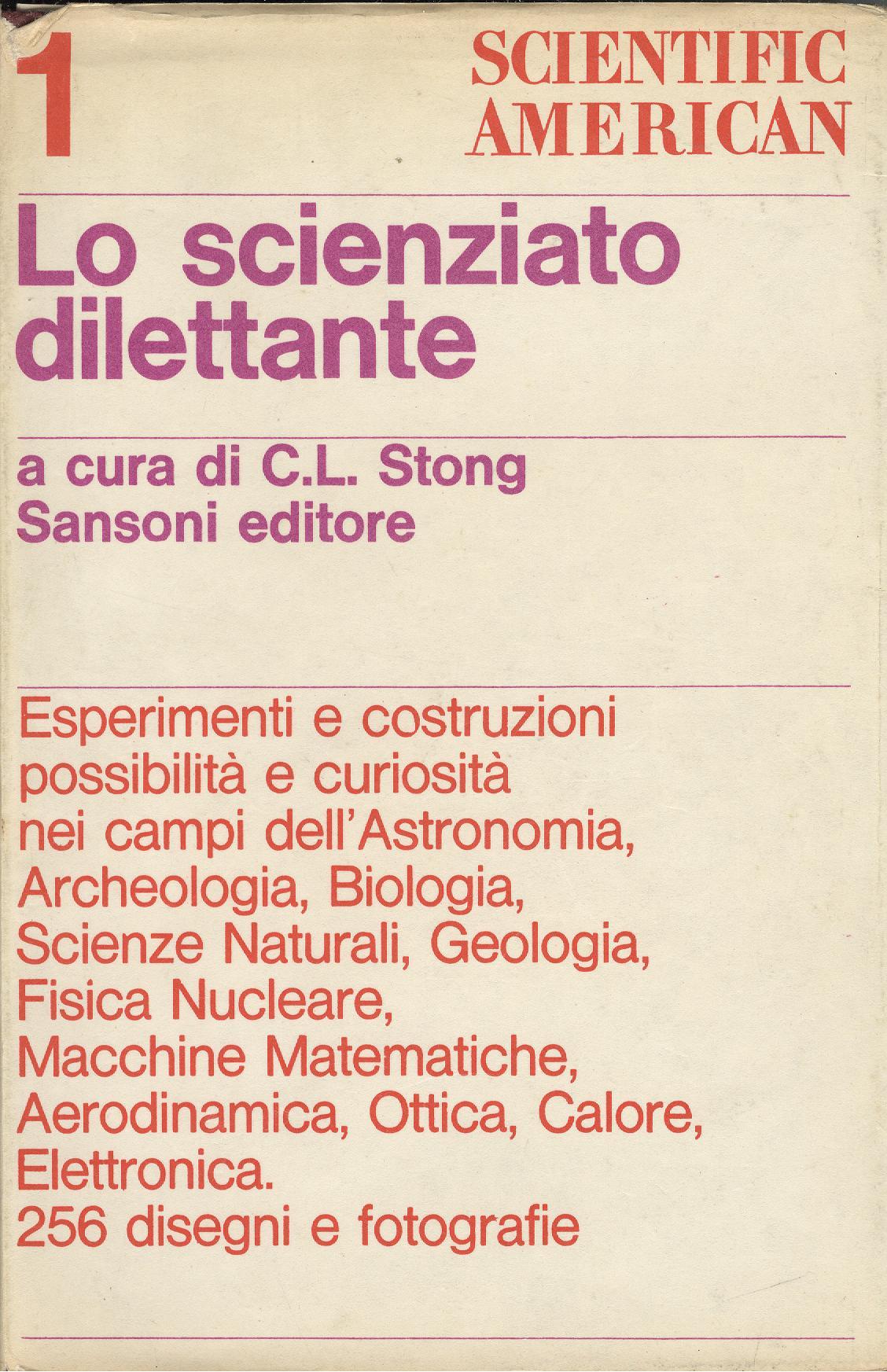 Lo scienziato dilettante