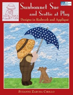 Sunbonnet Sue and Scottie at Play