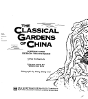 The classical gardens of China
