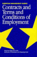 Contracts and Terms and Conditions of Employment European Management Guides