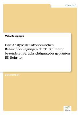 Eine Analyse der ökonomischen Rahmenbedingungen der Türkei unter besonderer Berücksichtigung des geplanten EU-Beitritts