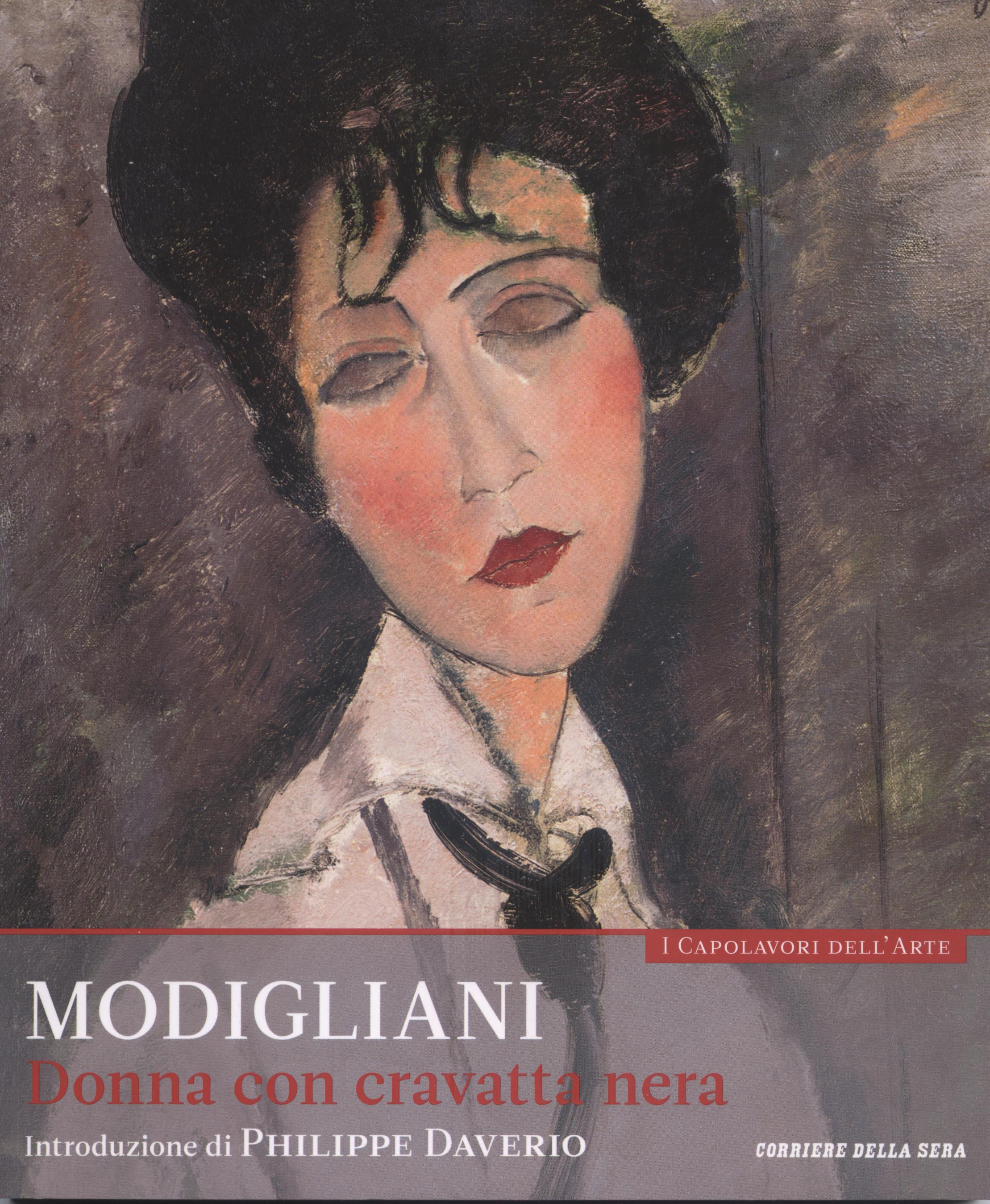 Modigliani - Donna con cravatta nera