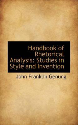 Handbook of Rhetoric...