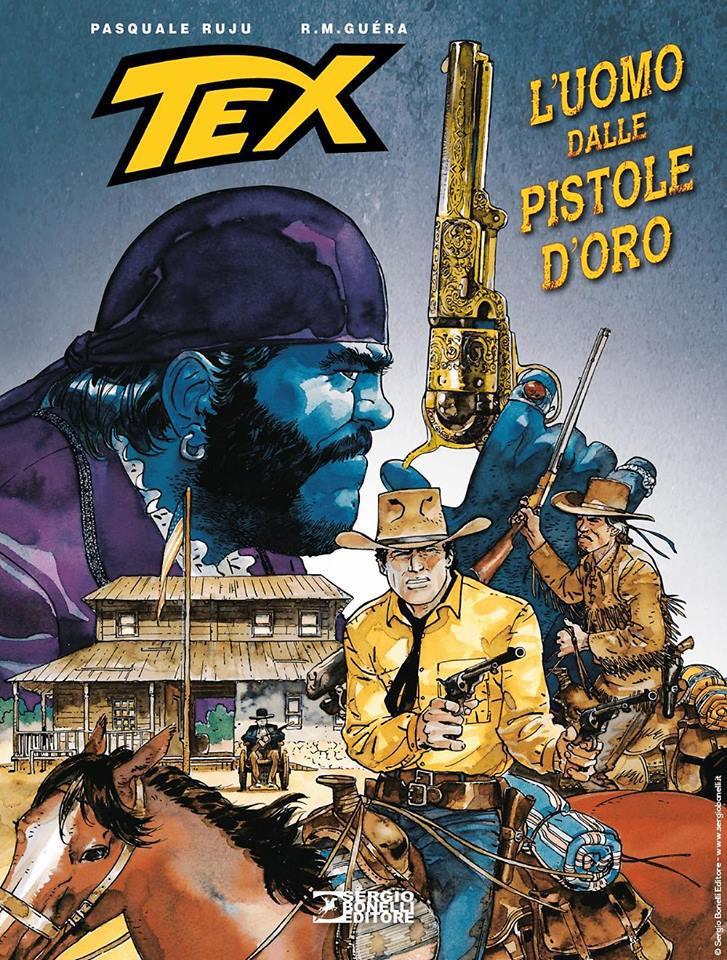 Tex: L'uomo dalle pi...