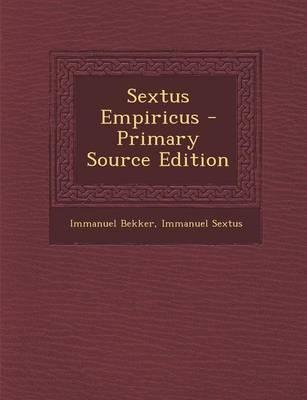 Sextus Empiricus - P...