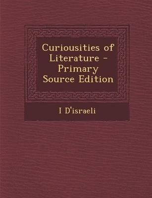 Curiousities of Literature
