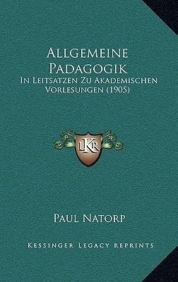 Allgemeine Padagogik