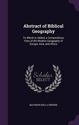 Abstract of Biblical Geography