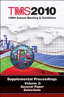 TMS 2010 139th Annual Meeting and Exhibition, General Paper Selections