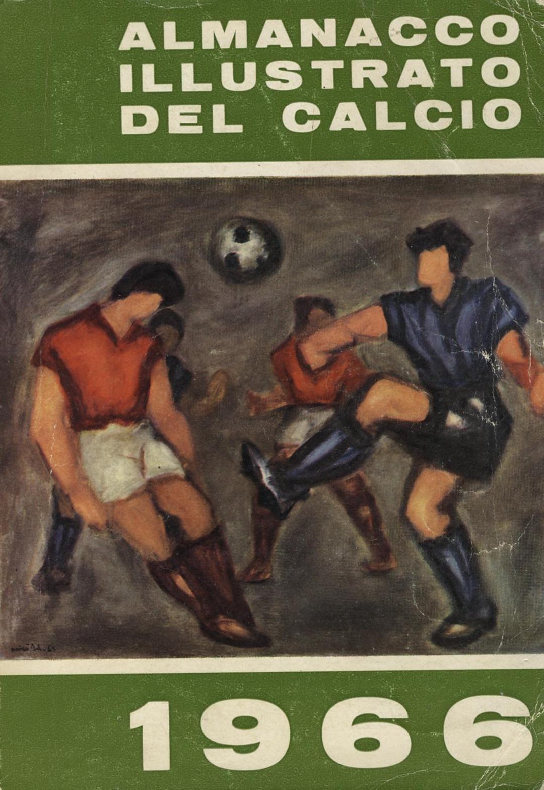 Almanacco illustrato del Calcio 1966