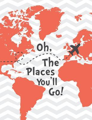 Oh the Places You'll Go Mix 90p Dotted Grid 20p, Lined, Ruled