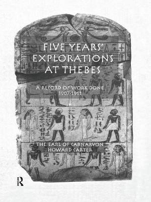 Five Yrs Exploration At Thebes