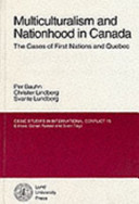 Multiculturalism and Nationhood in Canada