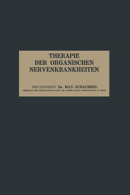 Therapie Der Organischen Nervenkrankheiten