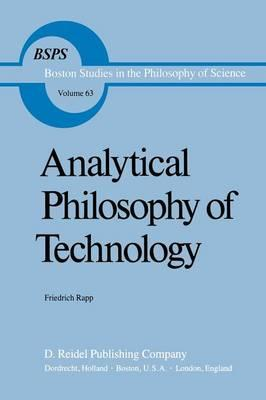 Analytical Philosophy of Technology