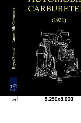 Automobile Carbureters (1931)