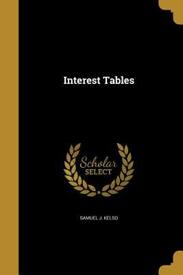 INTEREST TABLES