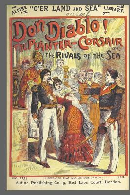 Journal Vintage Penny Dreadful Book Cover Reproduction Rivals of the Sea