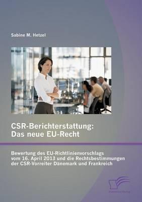 Csr-Berichterstattung - Das neue Eu-Recht