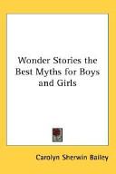 Wonder Stories the B...
