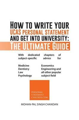 How to Write Your Ucas Personal Statement and Get into University