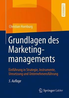 Grundlagen Des Marketingmanagements + Ereference