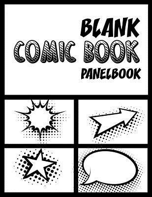 Blank Comic Book Panelbook