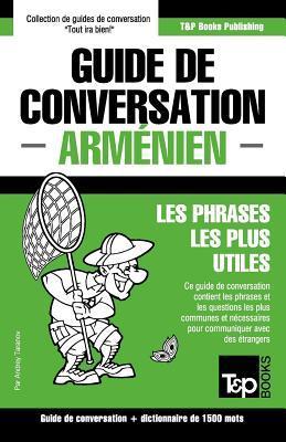 Guide de conversation Français-Arménien et dictionnaire concis de 1500 mots