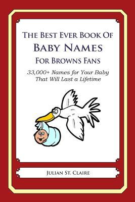 The Best Ever Book of Baby Names for Browns Fans
