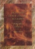 The Dictionary of New Zealand Biography: 1901-1920