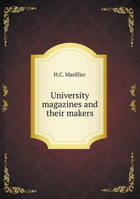University Magazines and Their Makers