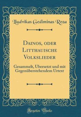 Dainos, oder Litthauische Volkslieder
