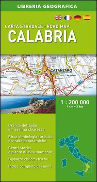 Carta Stradale Calabria 1