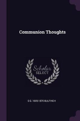 Communion Thoughts