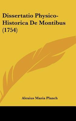 Dissertatio Physico-Historica de Montibus (1754)