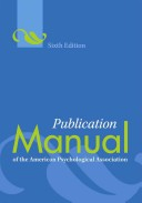 Publication manual o...