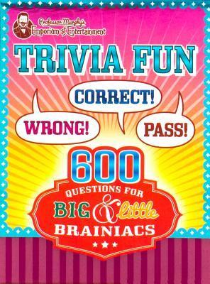 Professor Murphy's Quiz Cards - Trivia Fun