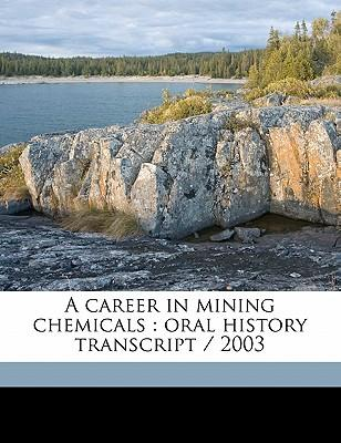 A Career in Mining Chemicals